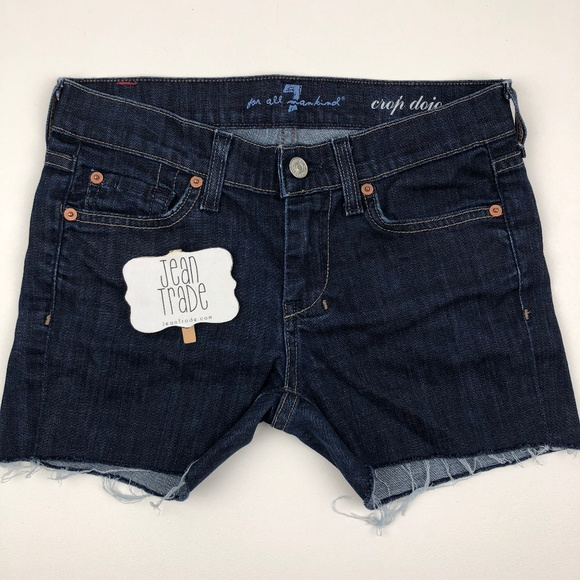 7 For All Mankind Pants - SALE 7 for all mandkind dojo jean shorts